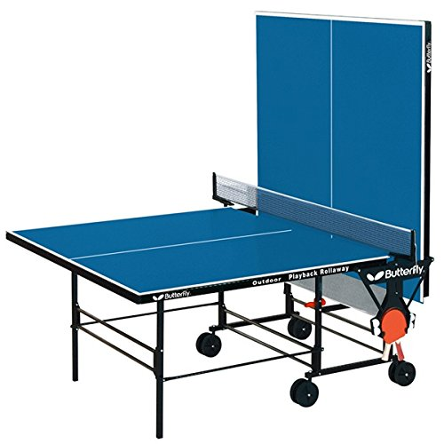 Butterfly Outdoor Playback Rollaway Best Outdoor Ping Pong Tables