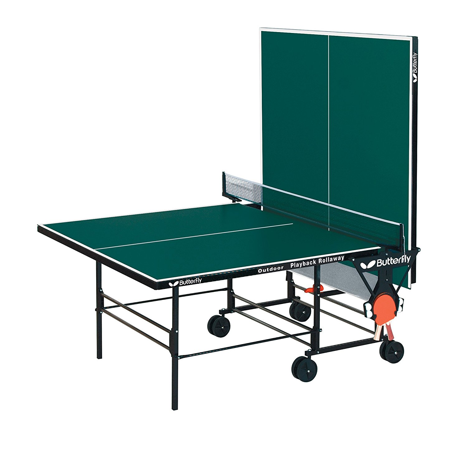 butterfly outdoor playback rollaway best outdoor ping pong tables. Black Bedroom Furniture Sets. Home Design Ideas