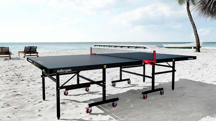 Killerspin Myt10 Blackstorm Outdoor Ping Pong Table