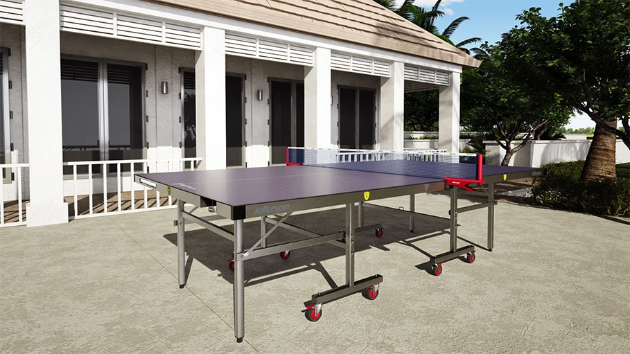 Weatherproof Ping Pong Table killerspin-myt7-breeze-outdoor-ping-pong-table3