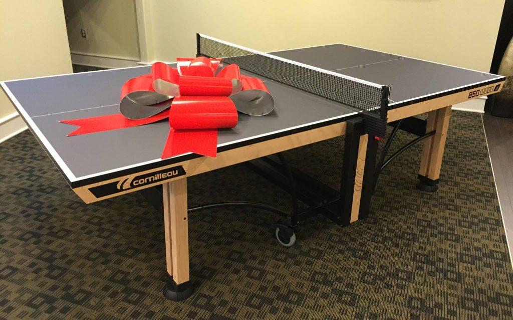 Cornilleau 850 wood indoor - Cornilleau outdoor table tennis cover ...