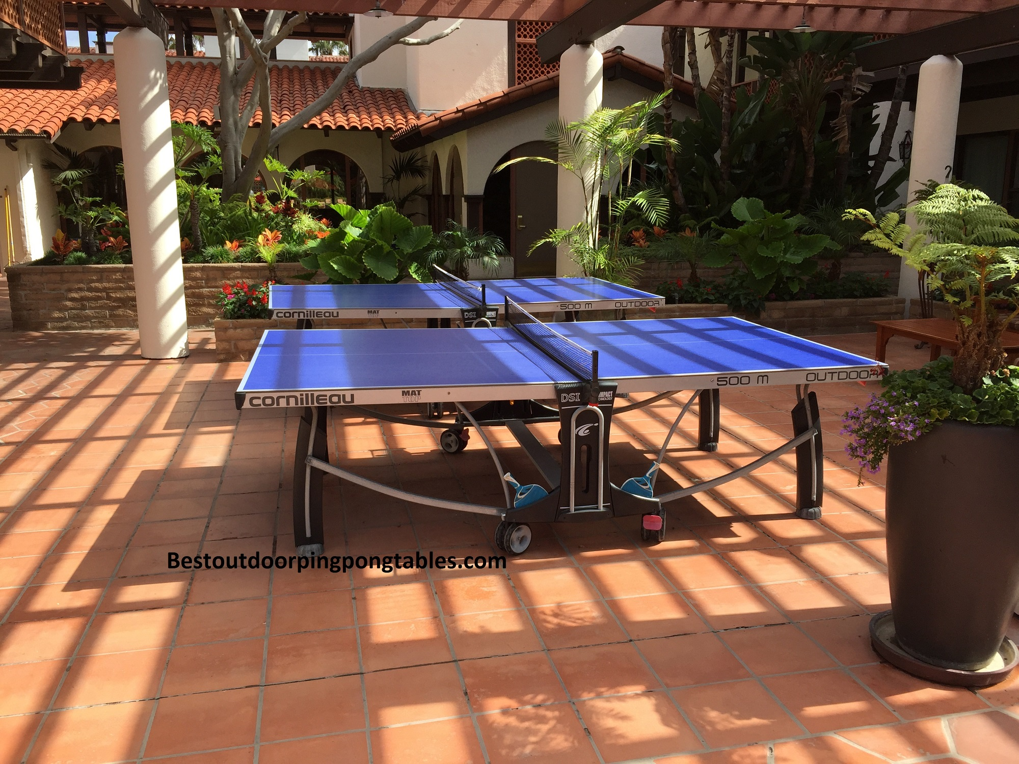 Cornilleau 500m crossover ping pong table - Table ping pong decathlon outdoor 500 ...