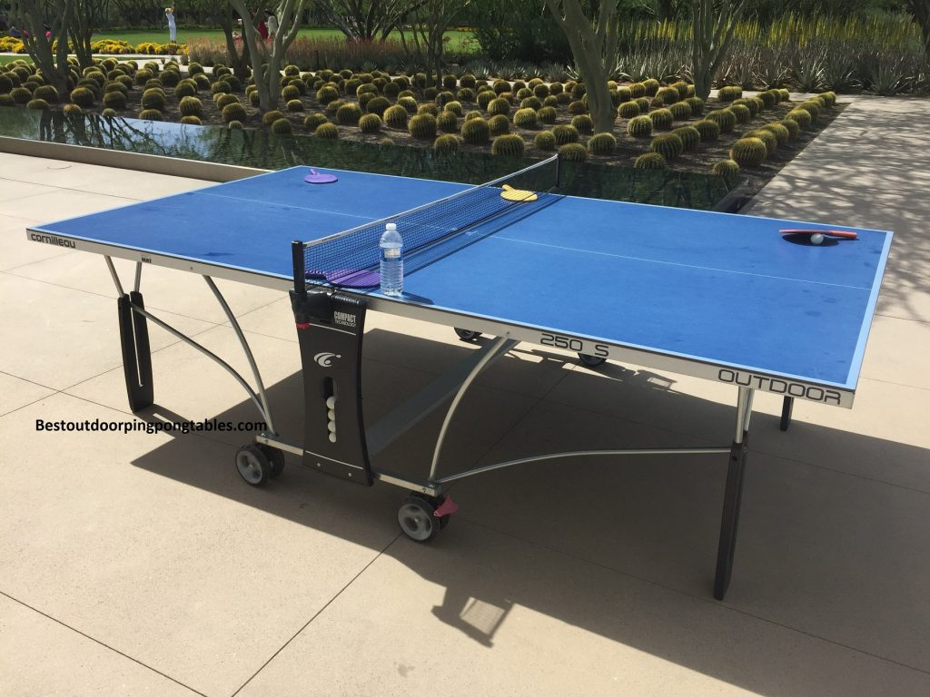 Cornilleau 250s Crossover Ping Pong Table Best Outdoor