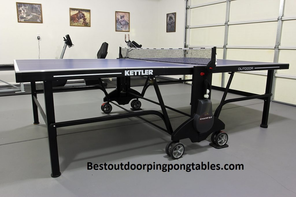 Kettler Champ 5 0 Outdoor Ping Pong Table