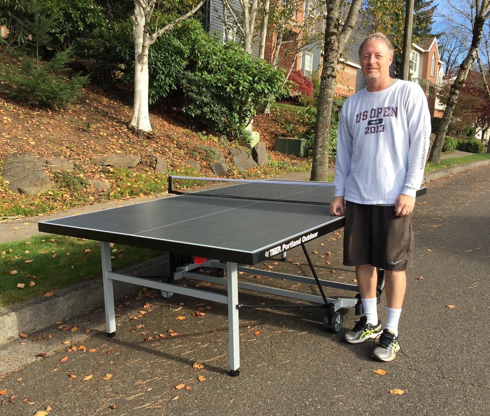 Tiger Pingpong Portland Outdoor Table