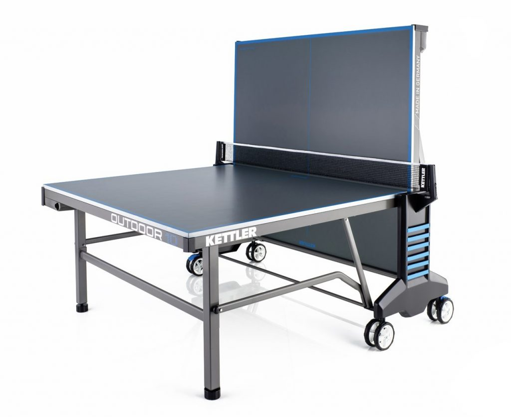 Kettler outdoor 10 table for Table ping pong interieur
