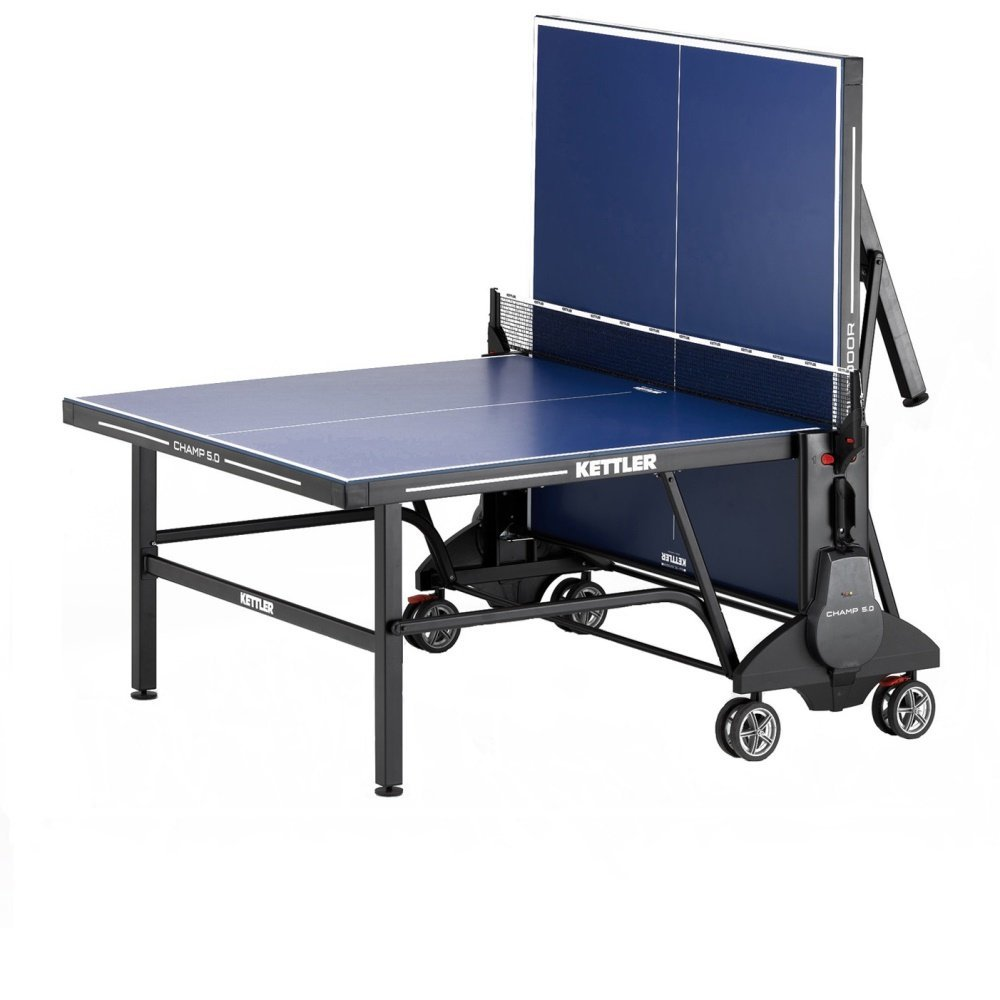 Kettler champ 5 0 indoor best outdoor ping pong tables for Convert indoor pool table to outdoor