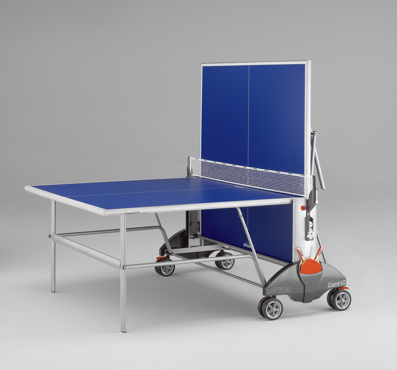 Kettler champ 3 0 indoor best outdoor ping pong tables for Table kettler