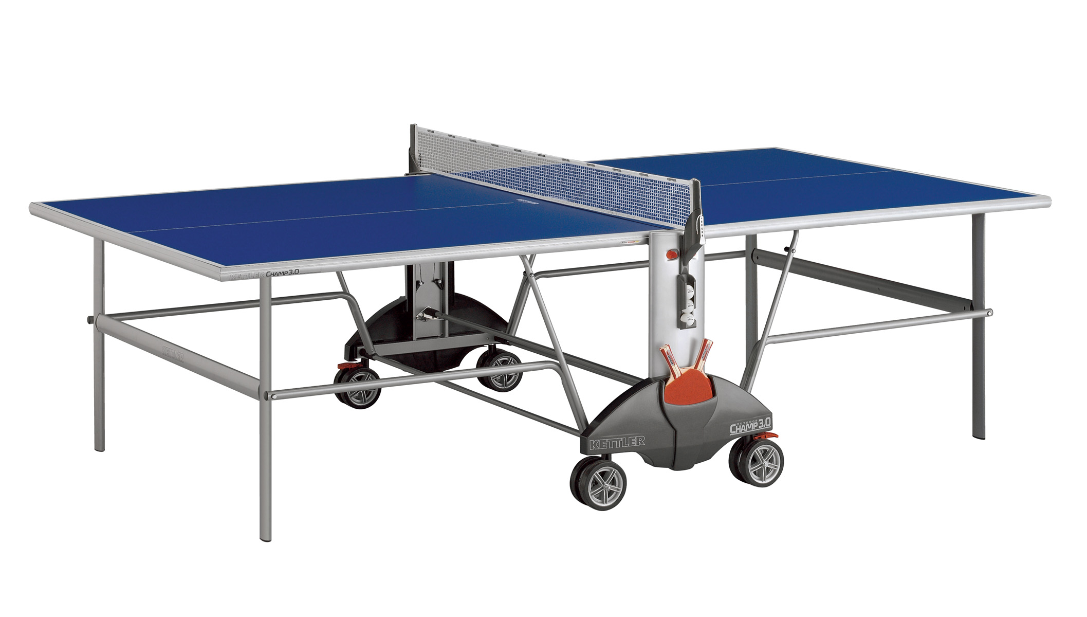 Kettler champ 3 0 indoor best outdoor ping pong tables - Construire table ping pong ...