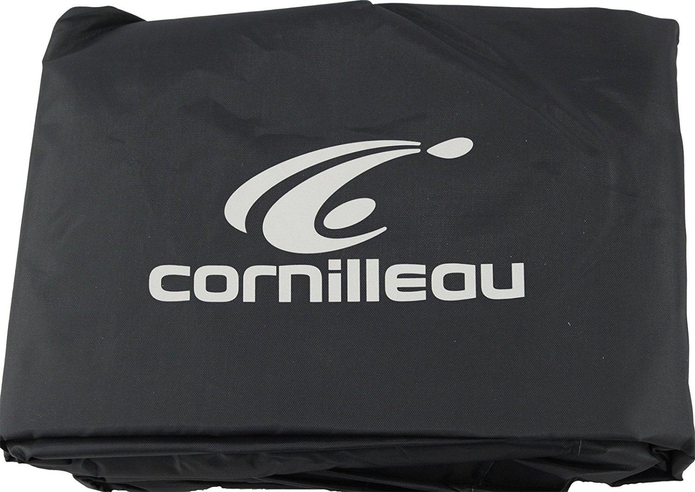 Cornilleau table tennis cover premium gray polyester - Cornilleau outdoor table tennis cover ...