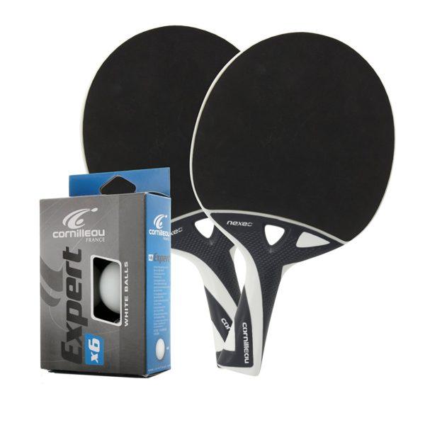 cornilleau nexeo x70 2 player paddle set