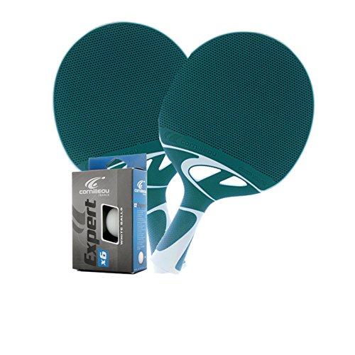 Killerspin Myt5 Table Tennis Table Home / Paddles / Cornilleau Tacteo 50 (Colors – Turquoise, Gray) (2 ...