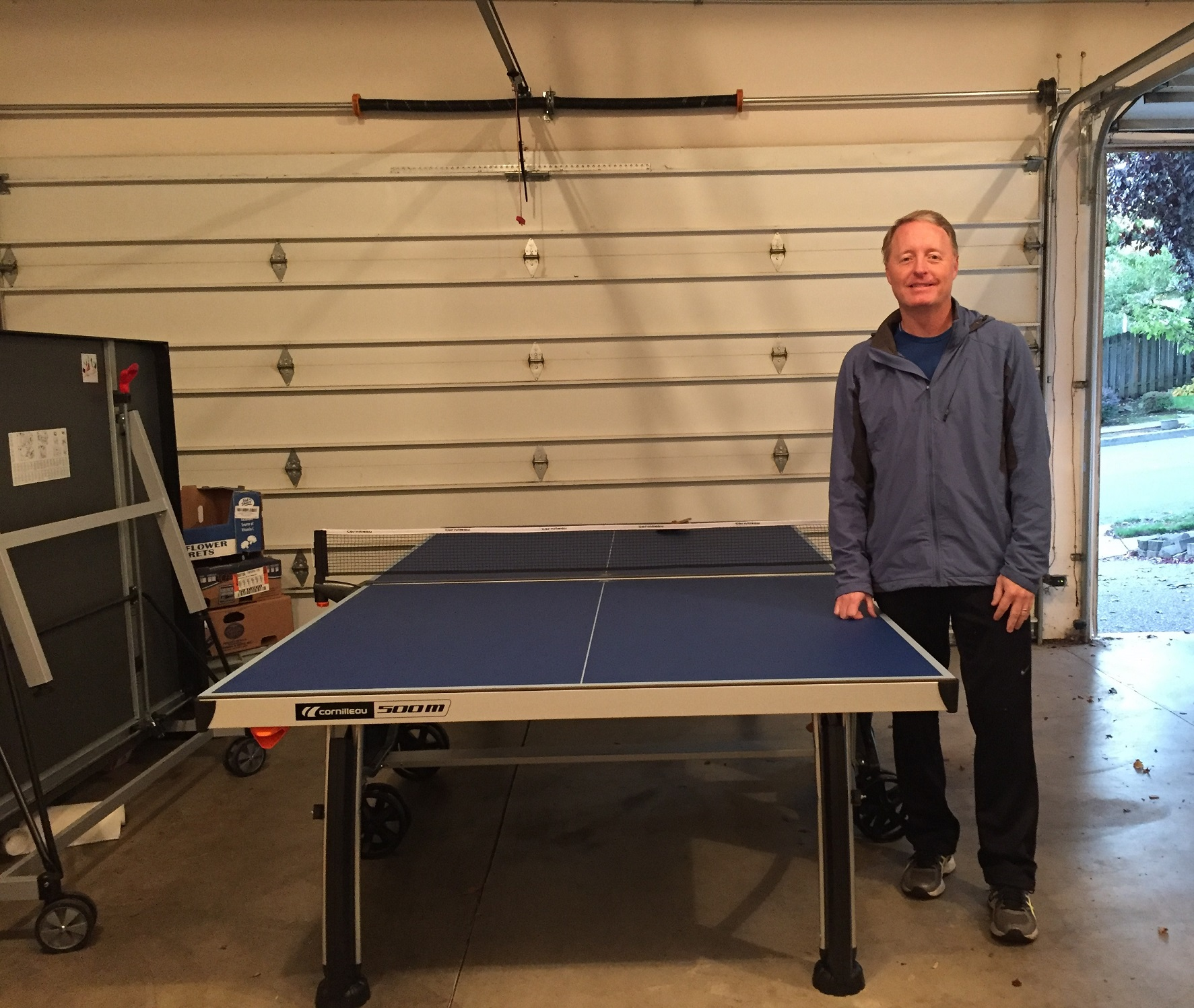 Cornilleau 500m crossover outdoor ping pong table - Construire table ping pong ...