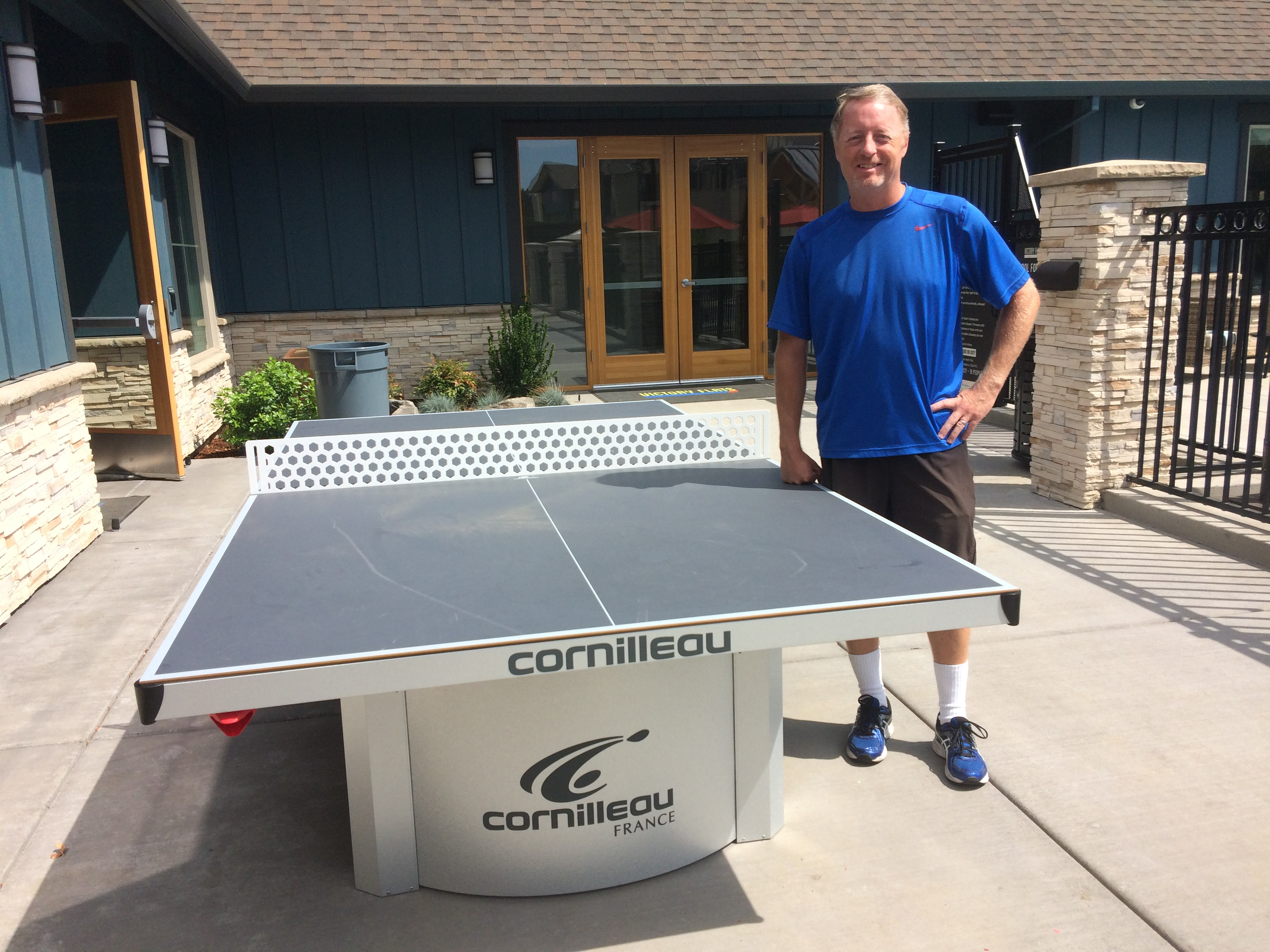 Cornilleau 510 pro outdoor table review - Table ping pong cornilleau outdoor ...
