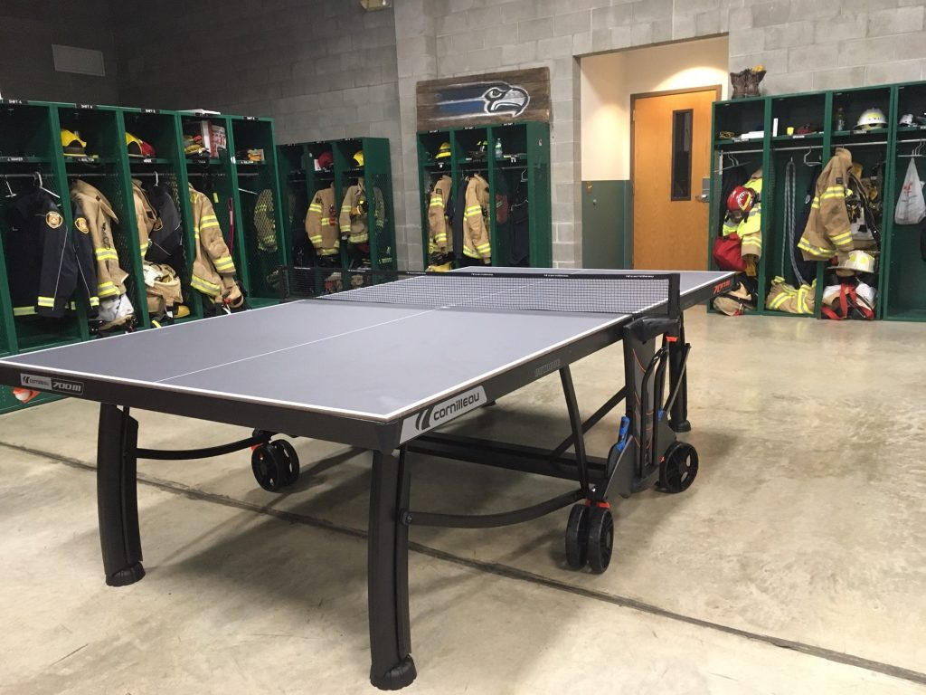 Depending On Space Availability Within The Fire Station, Sometimes An  Outdoor Table Tennis Table Makes The Most Sense. We Will Go Into The Top  Brands, ...