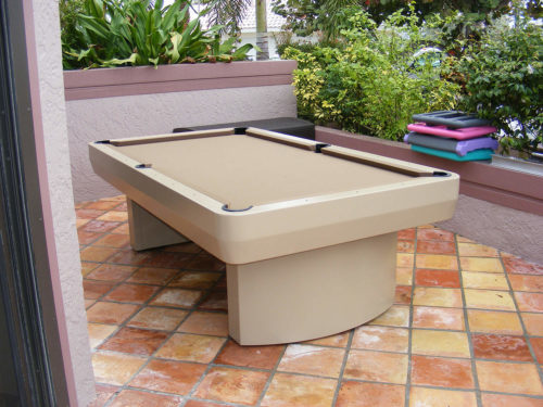 Outdoor Pool Table 3000 Series