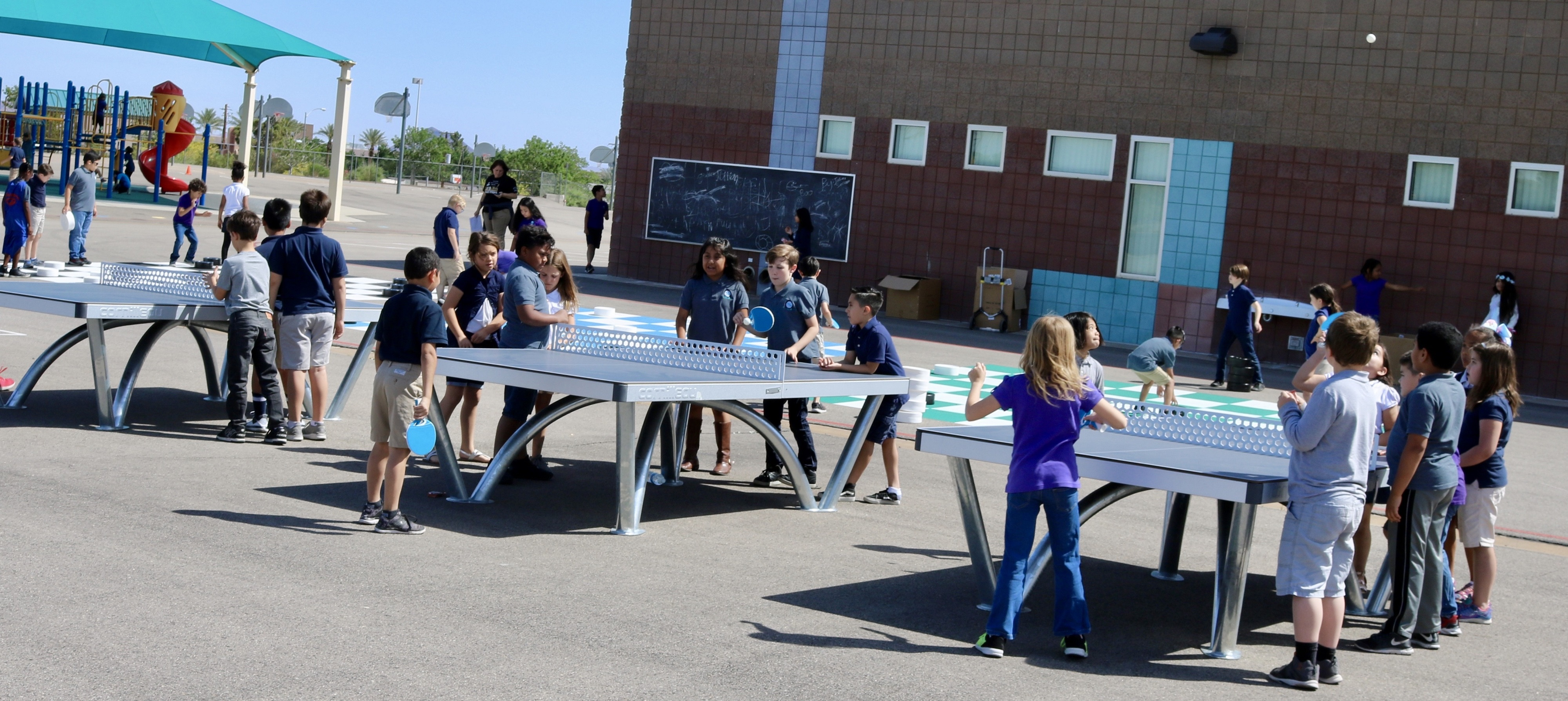 stem school nevada ping pong table
