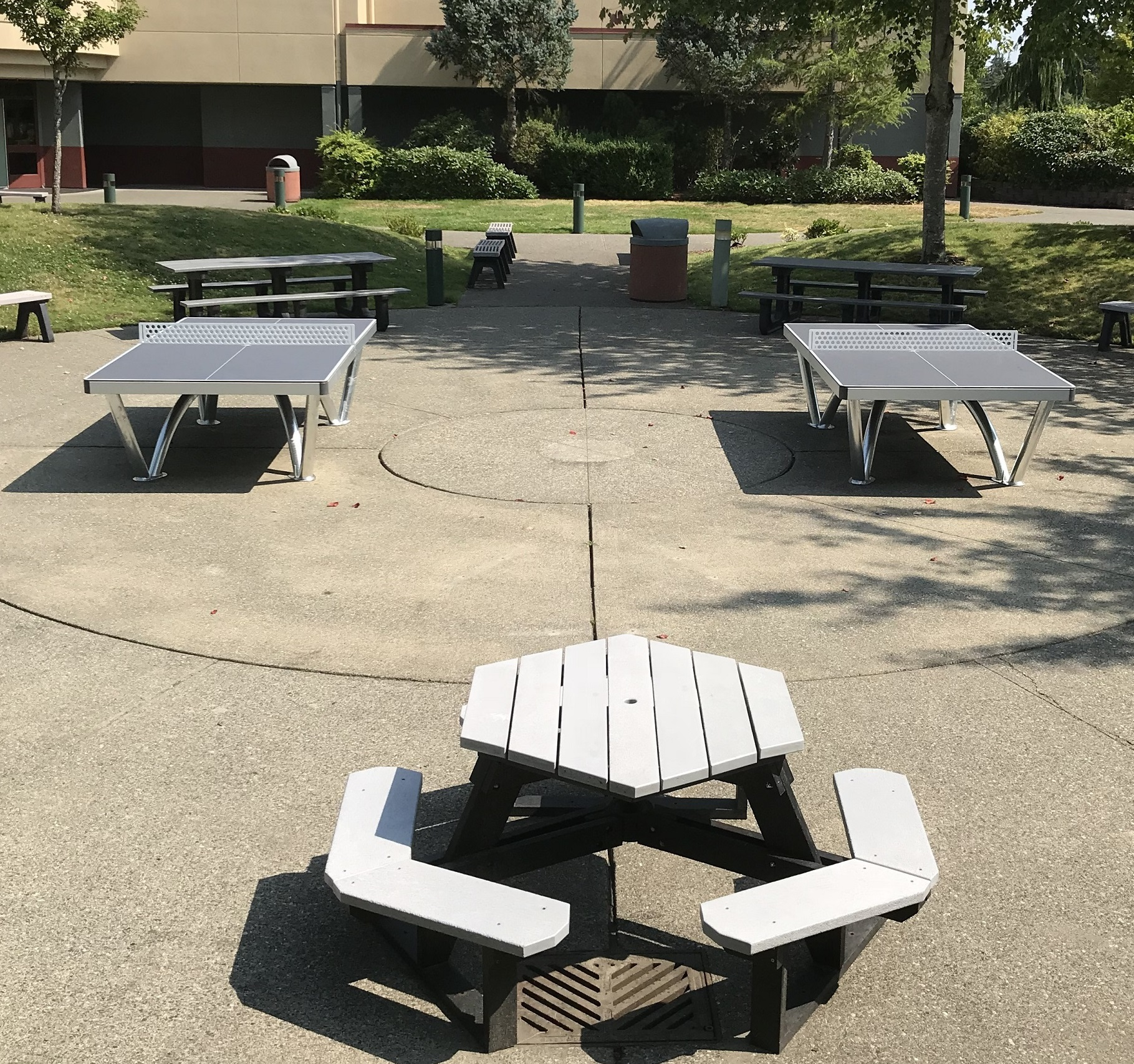 cornilleau park ping pong table high school