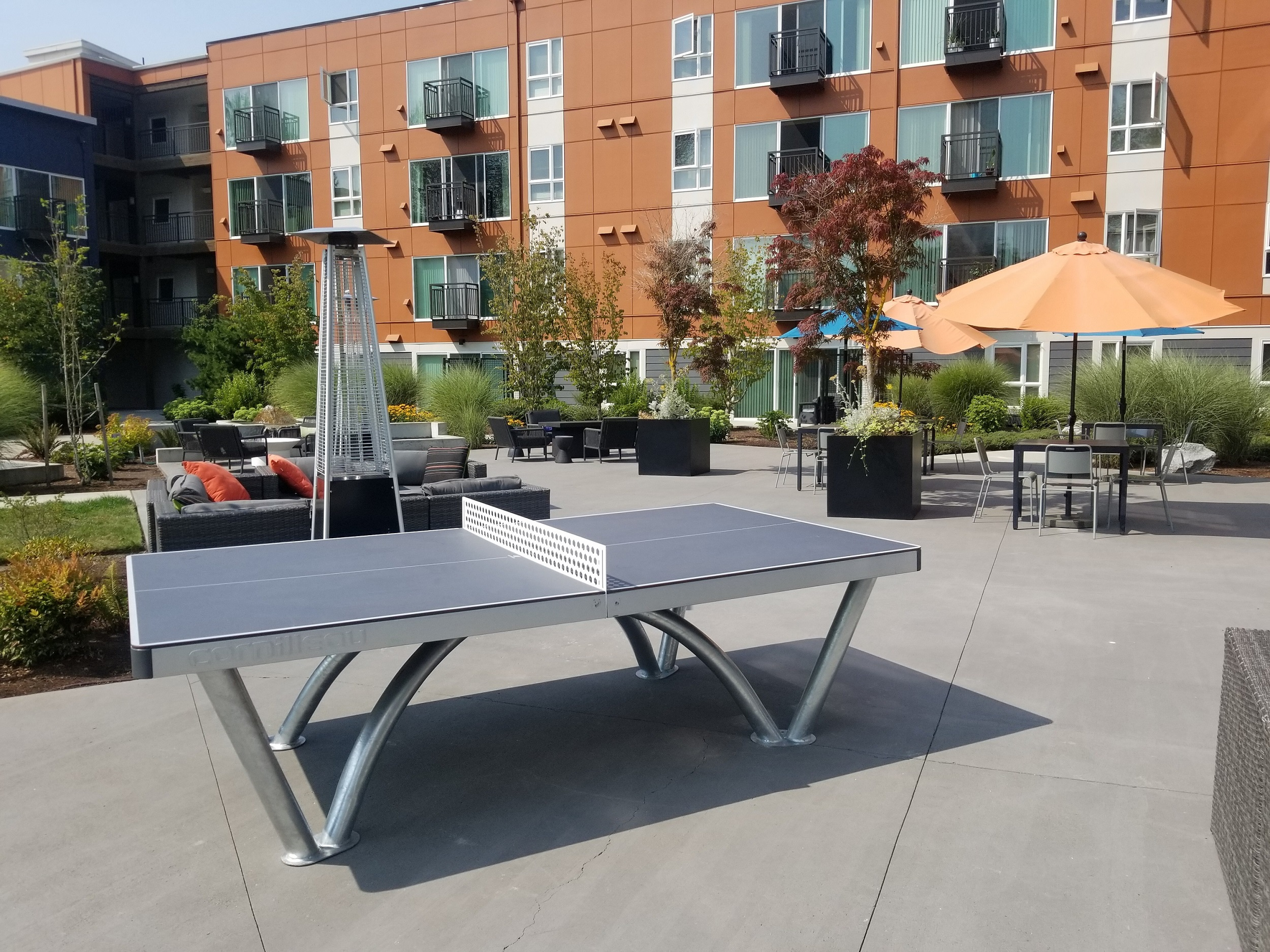 ping pong table apartment cornilleau