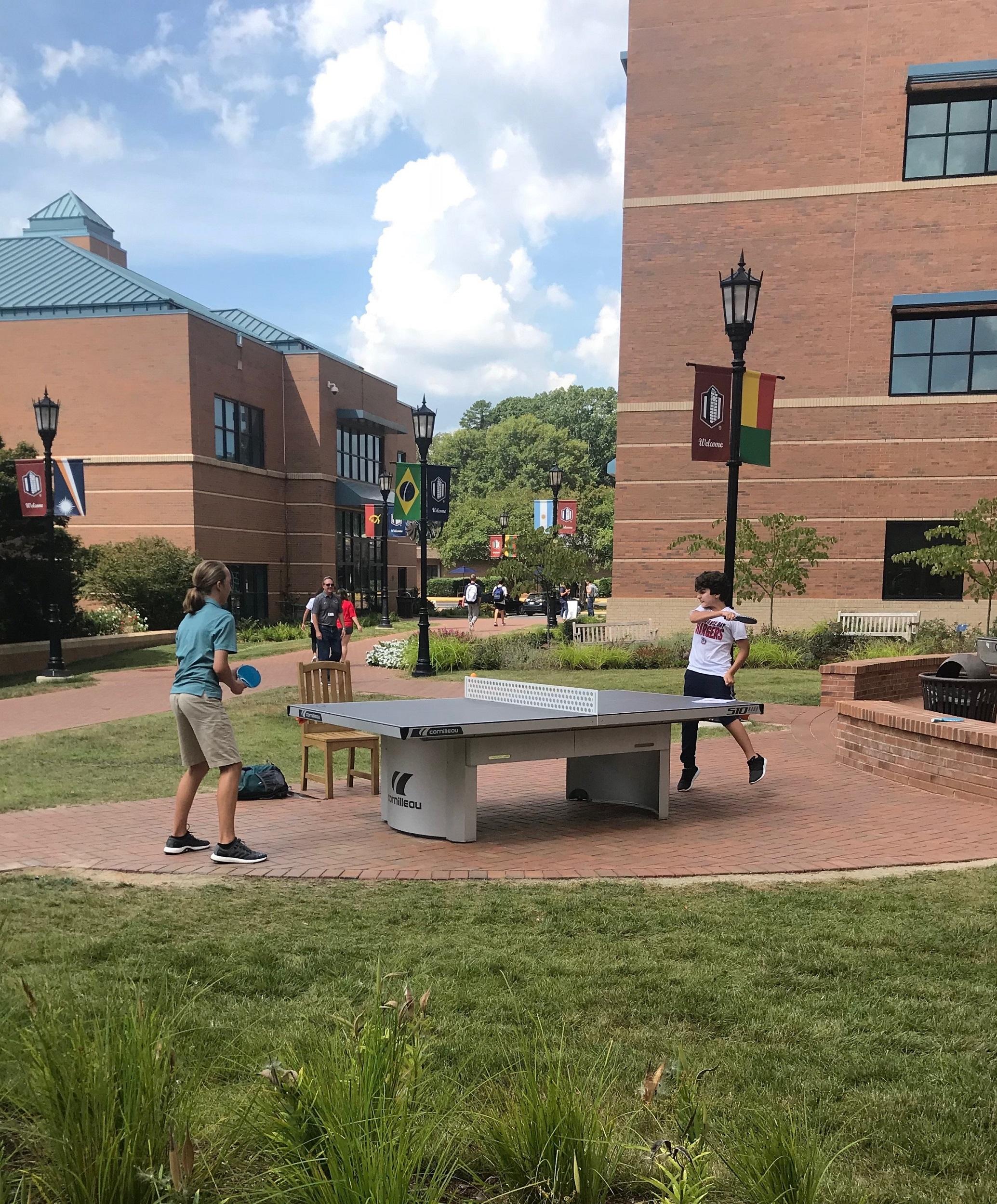 academy school ping pong table north carolina