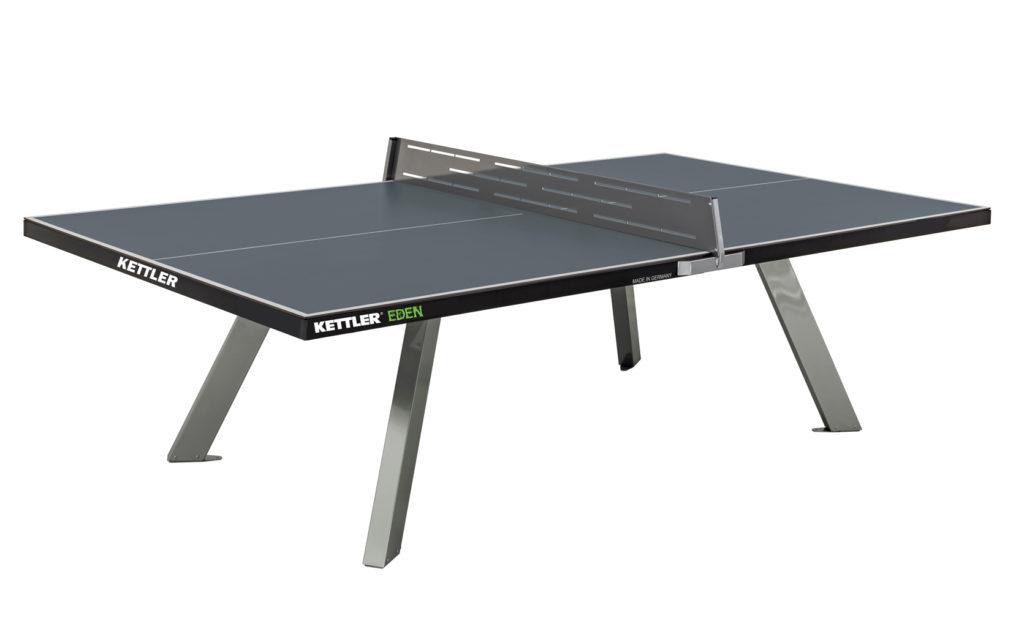 Kettler eden stationary ping pong table for Table kettler
