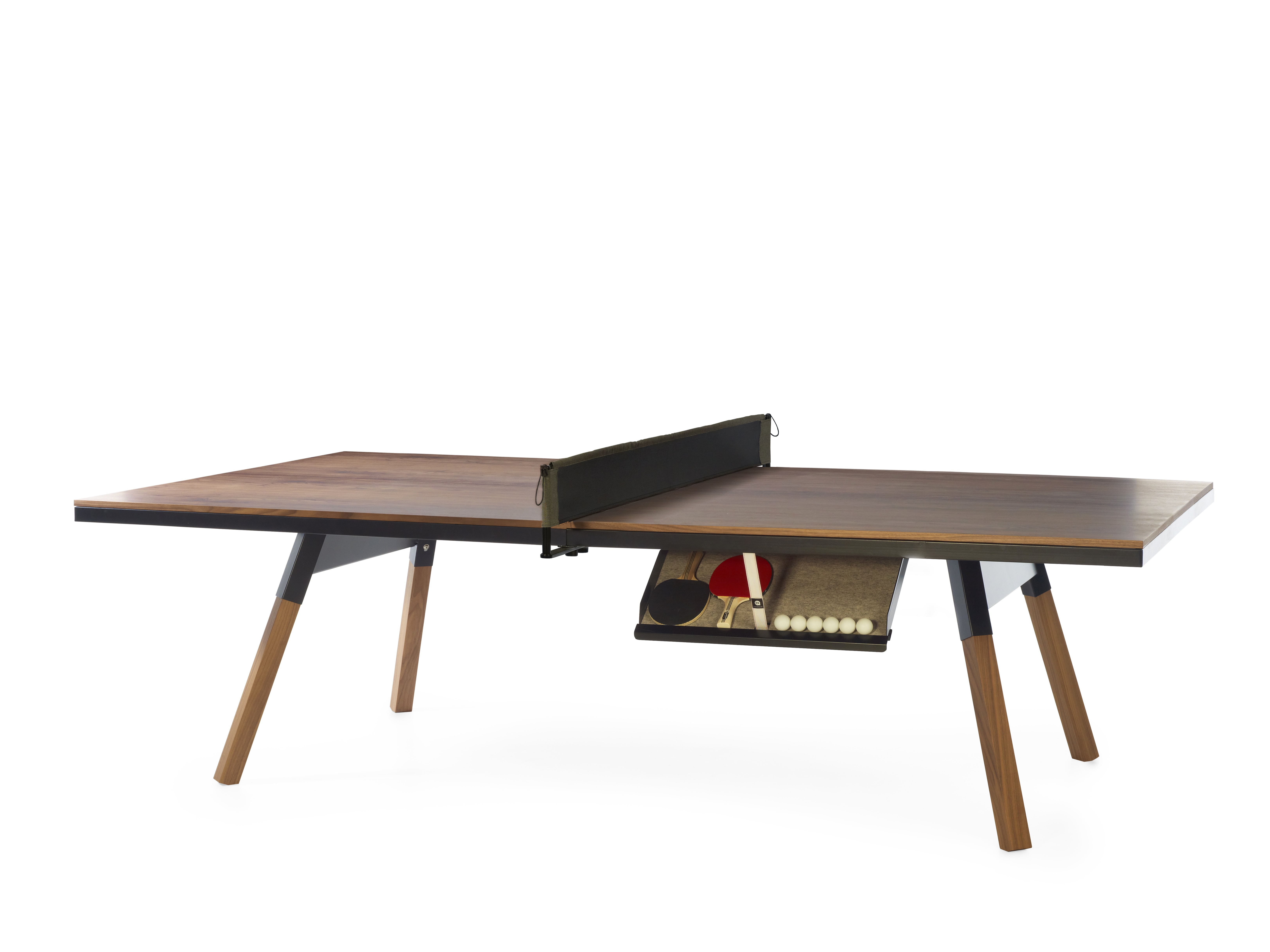 You And Me Walnut Ping Pong Table Conference Room Table