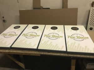 corn hole boards multifamily