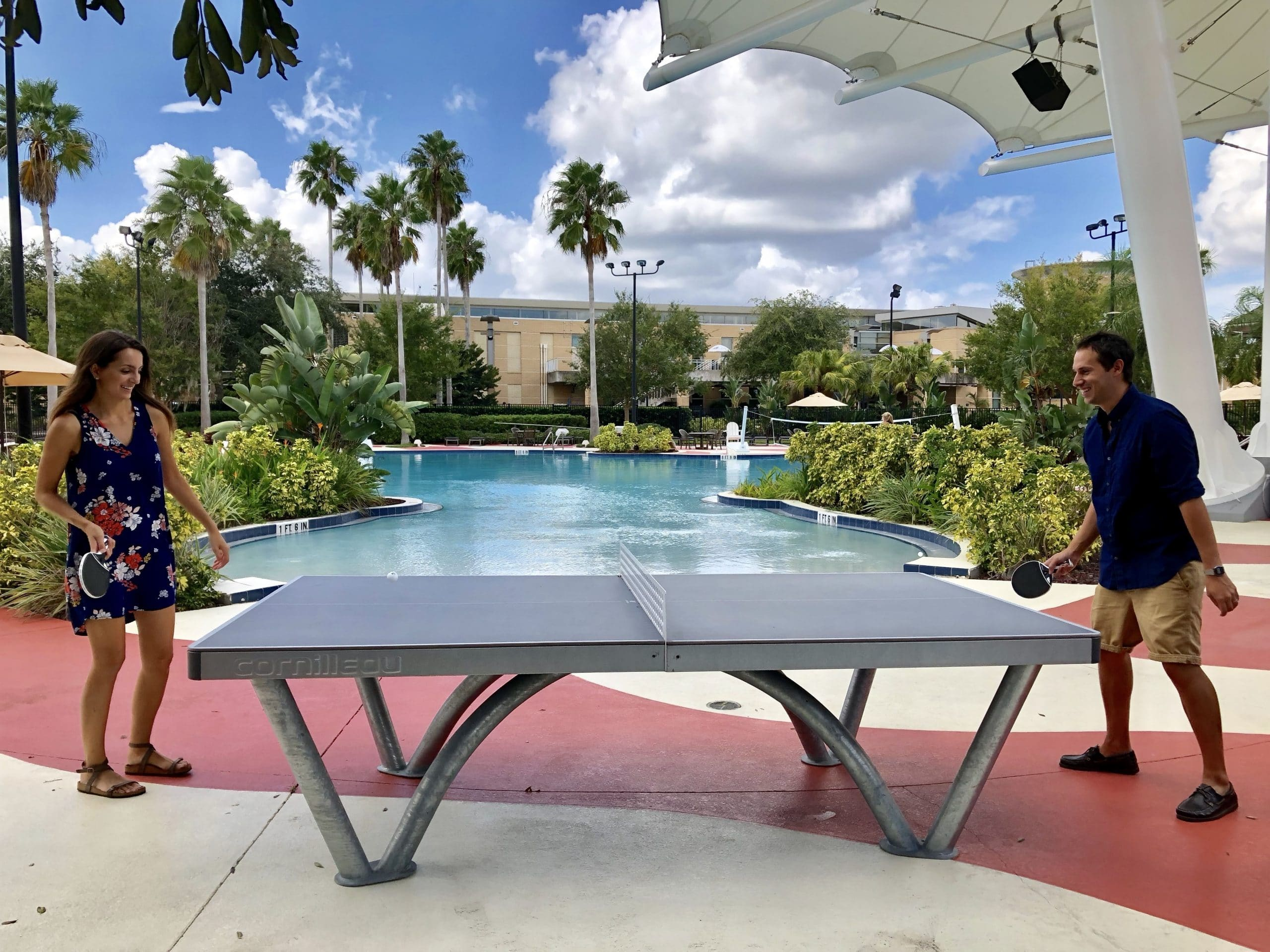 university central florida ping pong table