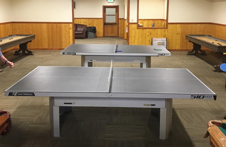 cornilleau ping pong table YMCA colorado