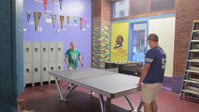boys and girls club ping pong table