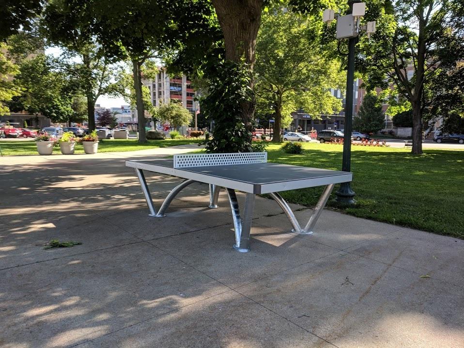cornilleau park ping pong table kalamazoo michigan