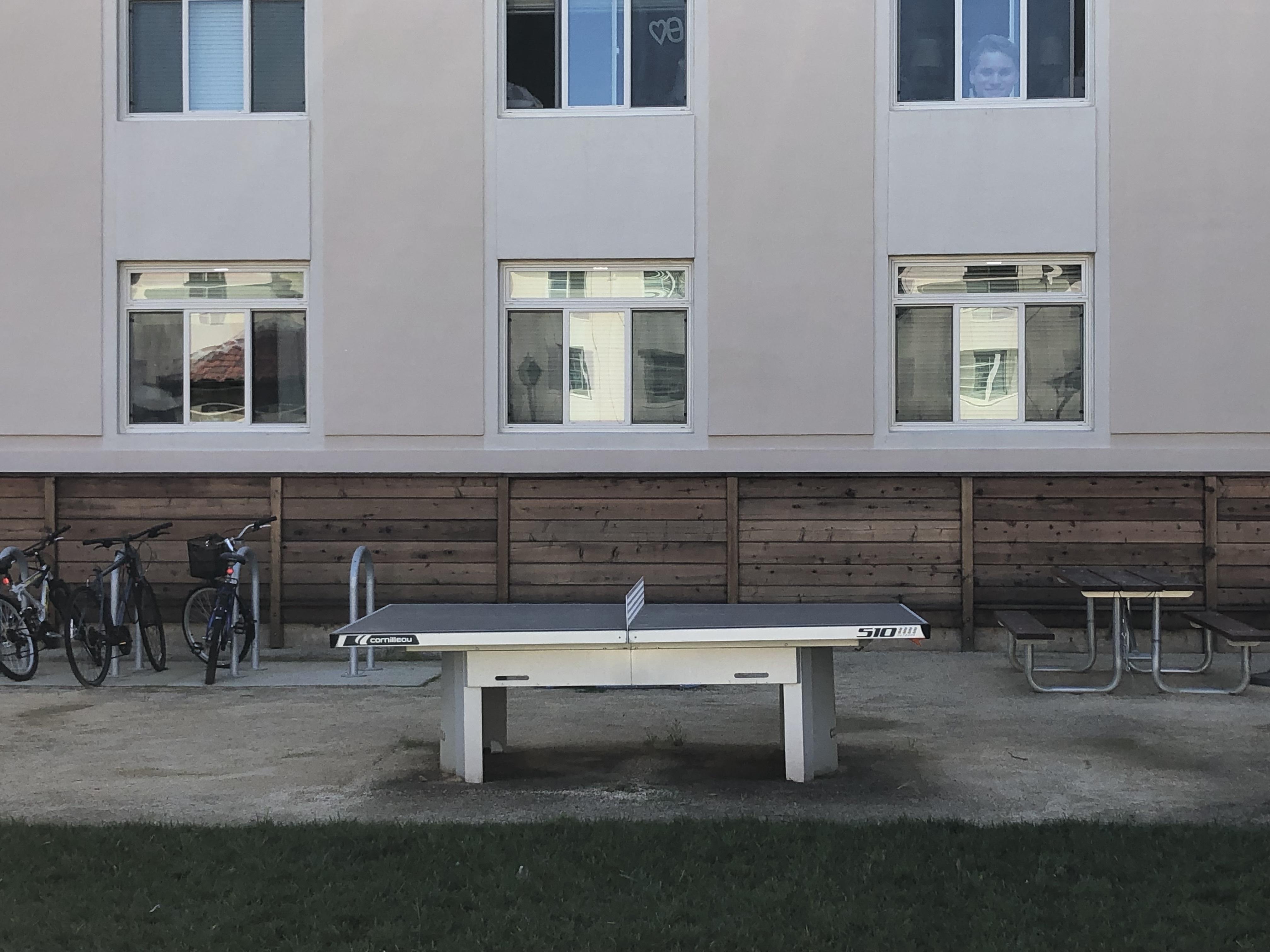 cornilleau 510 stationary ping pong table santa clara university