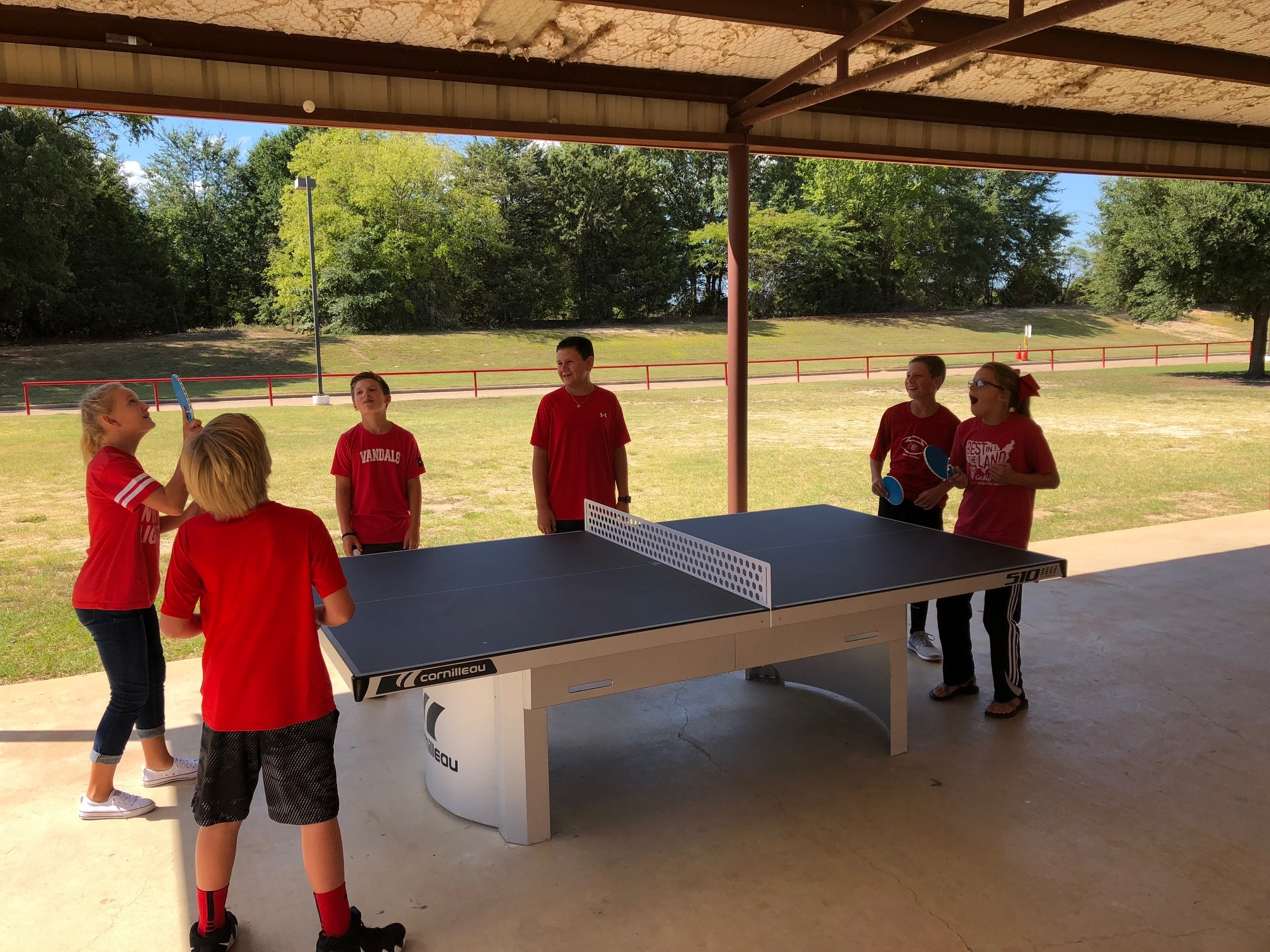 cornilleau 510 ping pong table middle school texas