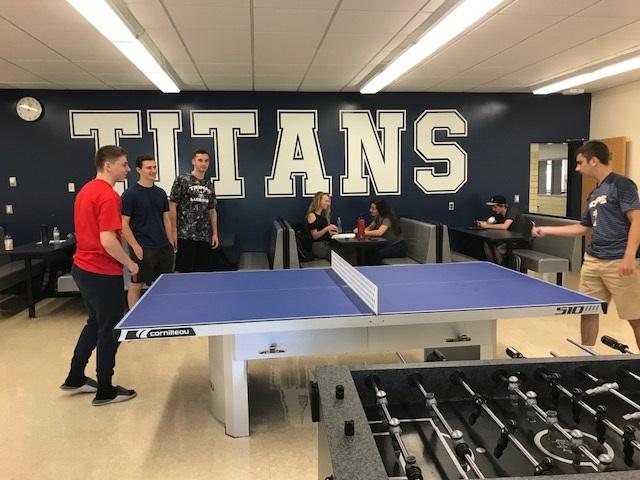 cornilleau 510 ping pong table high school
