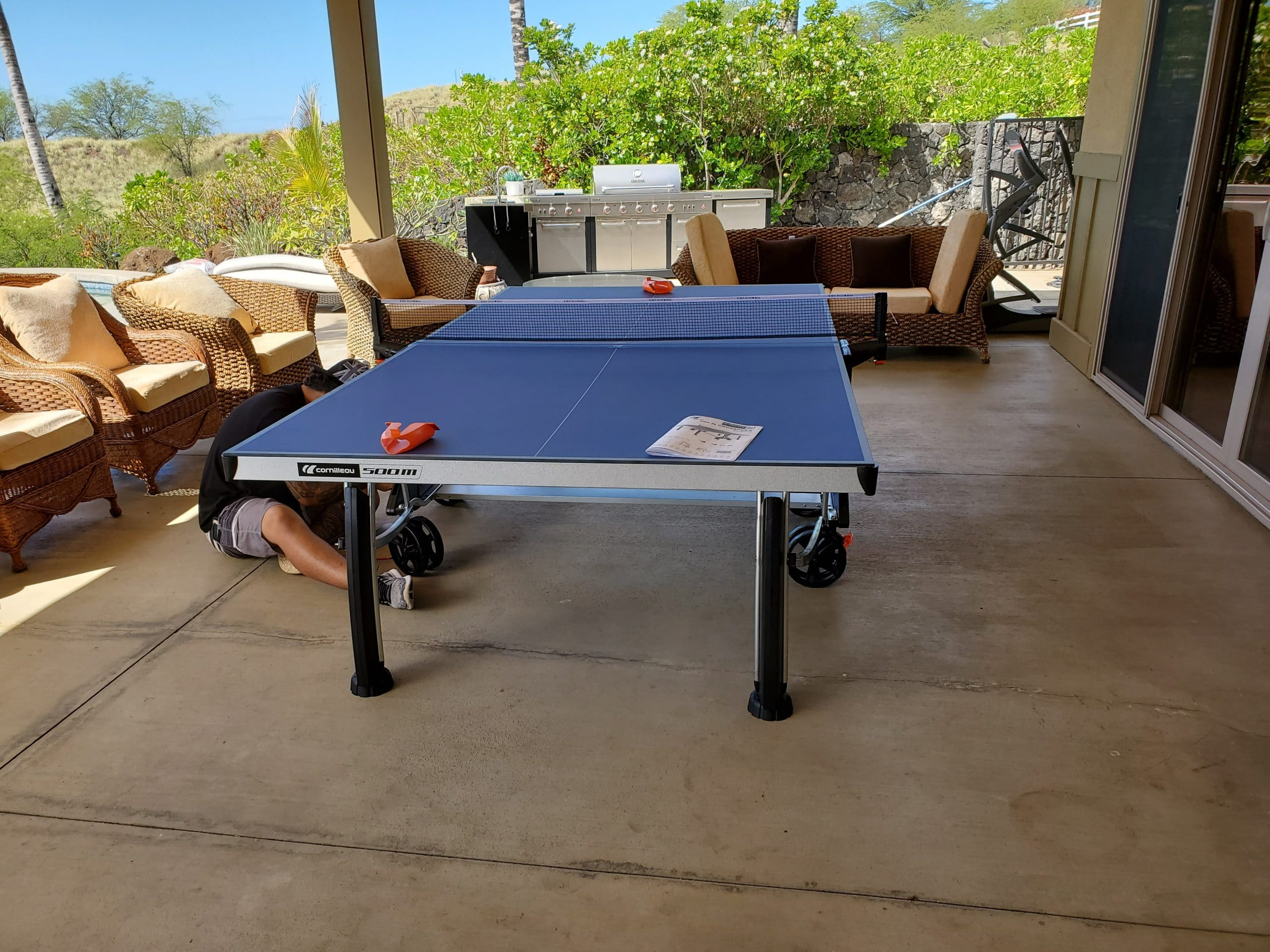 cornilleau 500M ping pong table in Hawaii