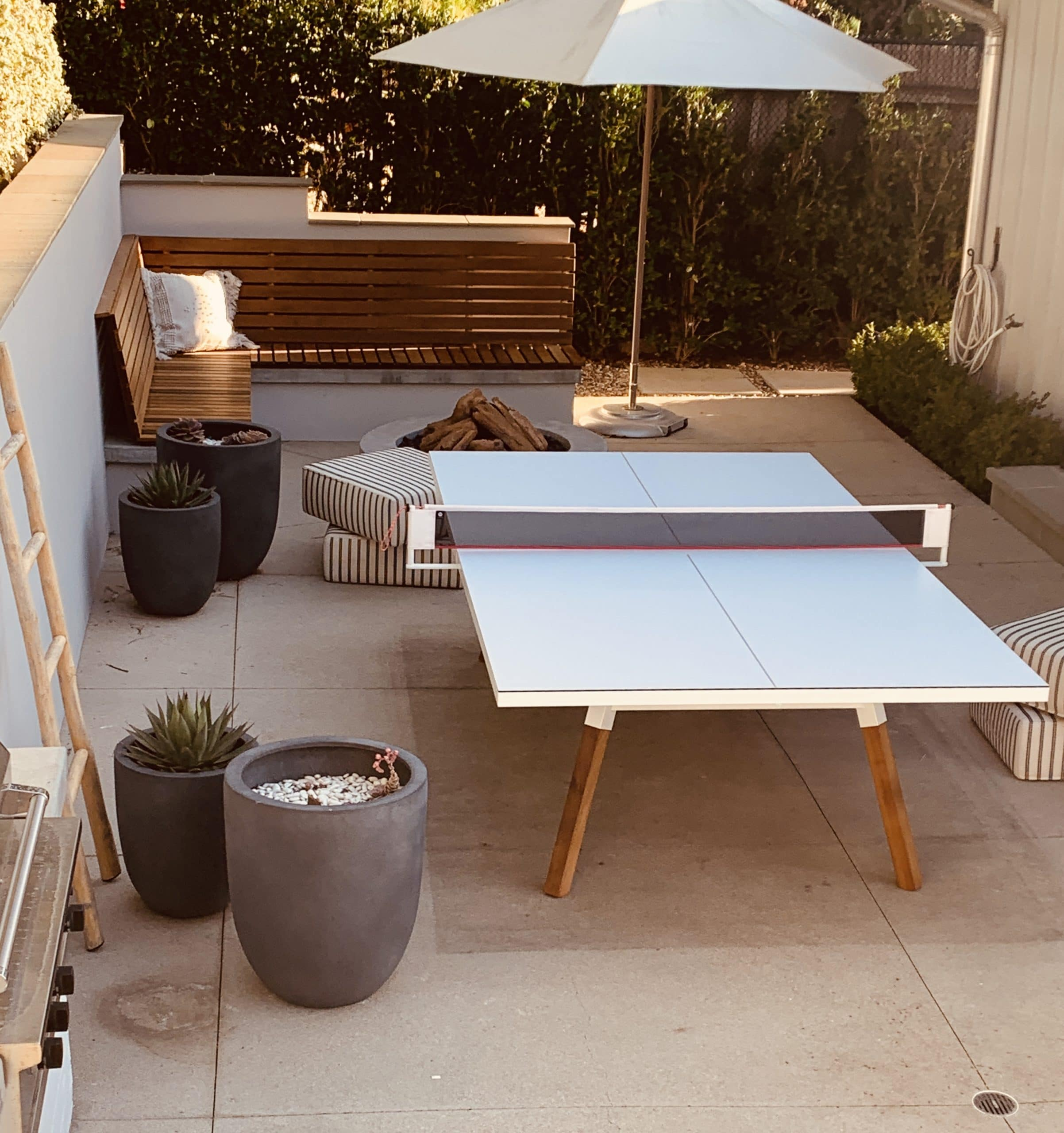 RS Barcelona You and Me White ping pong table