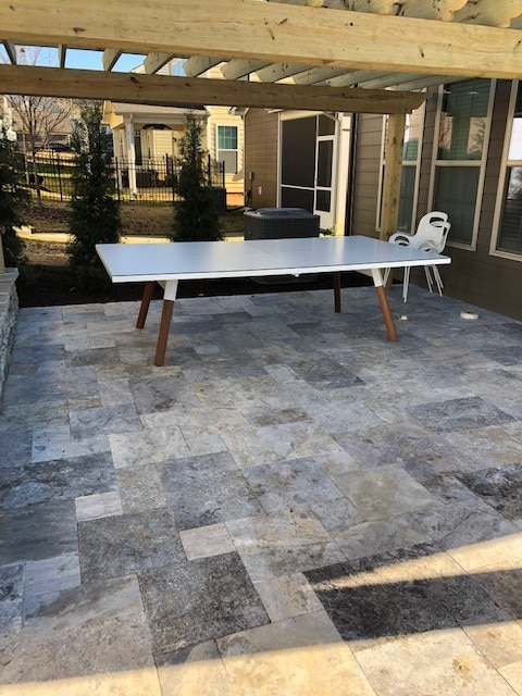 You and Me White RS Barcelona ping pong table