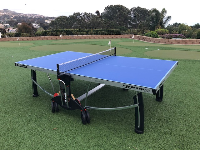 Cornilleau 500M ping pong table at Marriott resort
